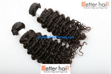 Qingdao hair products supplier cheap unprocessed full cuticle curly virgin Malaysian hair