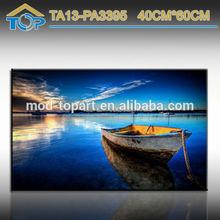 Home Decoration boat landscape Canvas Printing