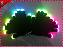halloween led gloves