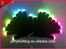 halloween led gloves