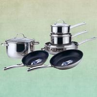 10 pcs chefline cookware set,high quality kitchen ware