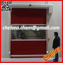 Latest design airshower room fast door, auto fast roller shutter door,two door interlock