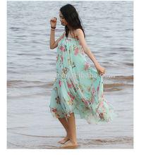 vestido de hawaiano para las mujeres 2014 de impresión de hawai vestido