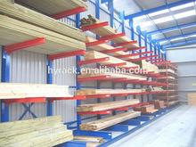 Metal cantilever storage shelf,steel pipe storage rack,cantilever rack