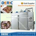 automática de alta eficiencia fumador horno para alimentos con capacidad 50kg a 1000kg