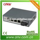 4 port 802.3at PoE network Switch, 4 PoE port / 1 fiber port