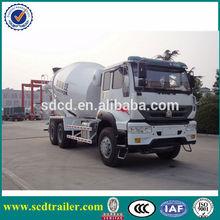 2015 Hottest!!! FOTON white 180 HP concrete truck (Optional volume: 5 m3, 6 m3)