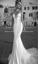 2014 very Sexy mermaid wedding dress