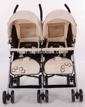 2014 baby twin stroller / umbrella jogger