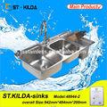 Lavabo lavabo çini fabrikası lavabo fırçalanmış veya özelleştirmek evye/sifon alibaba co