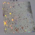 PET Cosmetic Wrapping Small Star Design for Good Choice