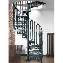 indoor cast iron spiral stair design