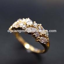 Charming Ring Women Ring Decoration Zircon Tat Ring