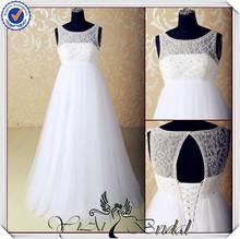 JJ3557 Customzied pregnant woman wedding dresses for pregnant brides