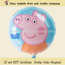 new design wholesale cheap peppa pig balloon