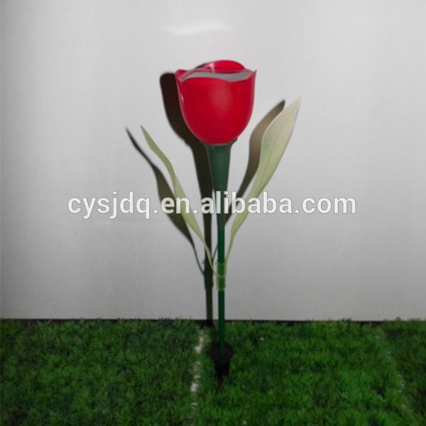Tulip solar light garden light