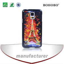 2014 trend fashion phone cases,hard plastic 3d mobile cases for Samsung S5