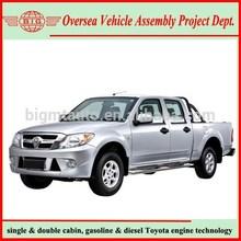 2.2 L 103 Horsepower Gasoline Double Cabin Pickup Trucks