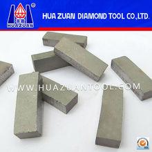 High sharpness Better cooling Customed diamond segment for asphalt