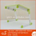 Plastique mixte portables lap plateau de table avec pieds amovibles