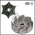 personalizado de alta pressão de bronze de fundição rotativo da bomba de água impulsor peças