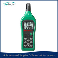 MASTECH MS6508 Temperature and Humidity Meter Tester C F Selection Data Log