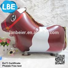 walking Pet toy animal shaped helium foil balloons