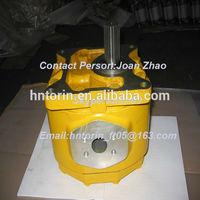 D50P-16 Bulldozer Parts Main Clutch Pump And Steering Pump,Hydraulic Gear Pump Backhoe 07400-30200