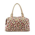 Women floral fashion tote handbag young girl Summer shoulder bags