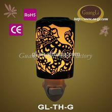 < festival theme > ceramic night lamp halloween gift electric fragrance oil lamps