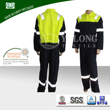 Hot Selling oem Safety free sample blackout industry flame repllent clothing manufacturers overseas