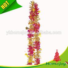 Tinsel Garland Stars Christmas Tree and Wedding Table Decor
