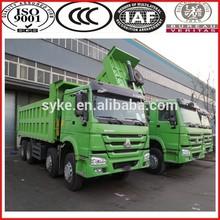 white howo 336hp dump truck for sale