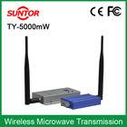 5000mw 2km microwave audio wireless transmission system