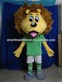 buona visione leone costumi mascotte animale per adulti