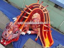 Inflatable dinosaur costume Slide,dinosaur slide,inflatable toboggan slide