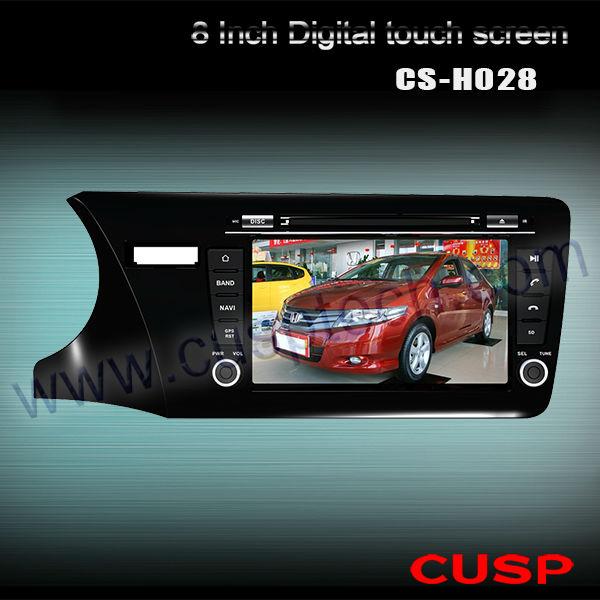 New arrival CS-H028 CAR DVD PLAYER WITH GPS FORCS-H028 HONDA CITY