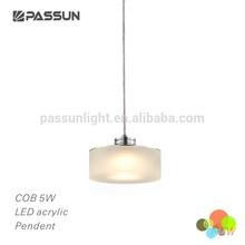 indoor cob 5w LED acrylic pendant light