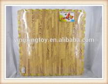 foam puzzle play mats Soft EVA grain style puzzle kid's foam baby play mat
