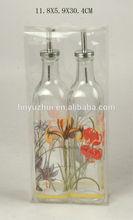 Glass Oil and Vinegar, Kitchenware jar