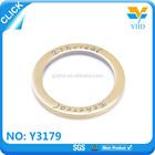 manufacture custom metal colored o rings