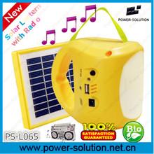 2014 HOTSALE portable solar radio with lantern lighting,USB charger