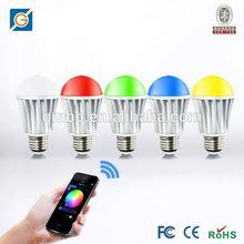 hk led light hue light bulb by andriod soft,Android/IOS APP WiFi LED Bulb