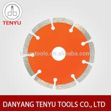 Jiangsu danyang tenyu tools manufacture diamond saw blade segment continuous