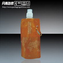Guangdong new design hot sale drink and fruit juice pouch with spout