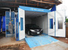 WLD9000 Car Painting Oven (CE) with active carbon cabinet filter system