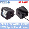 "16W led offroad light, 3"" Auto led working lamp for Car / Truck / SUV,12v led work light"