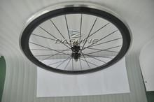 Free shipping OEM painting wheels 50mm road bike wheelset Carbon wheelset with alloy braking surface