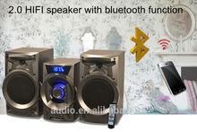 Perfect sound system 2.0 hifi multimedia speaker