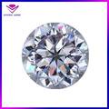 china pequeña ronda de piedra blanca cz cúbicos circonia pequeños diamantes sueltos